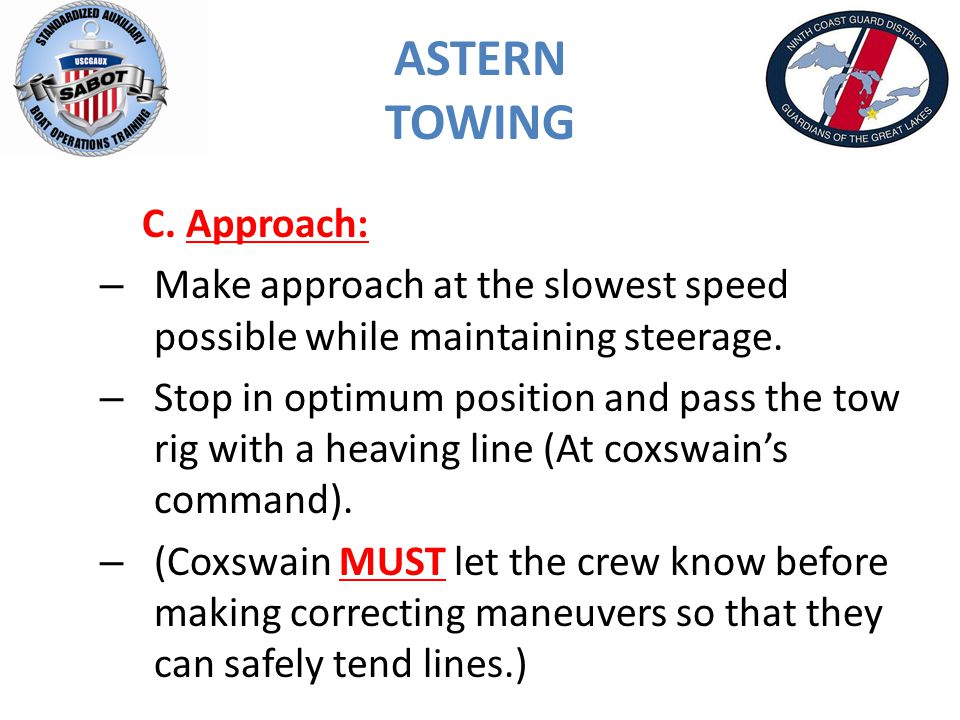 ASTERN TOWING C.