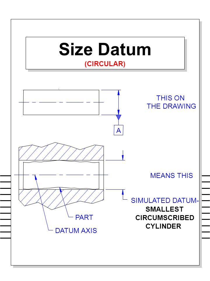 Size Datum (CIRCULAR) Size Datum (CIRCULAR)
