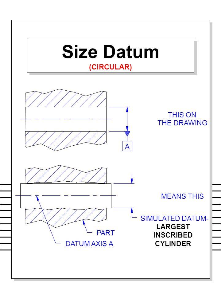 Size Datum (CIRCULAR)
