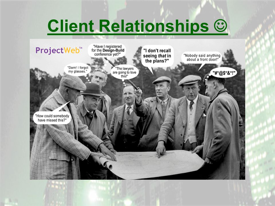 Client Relationships