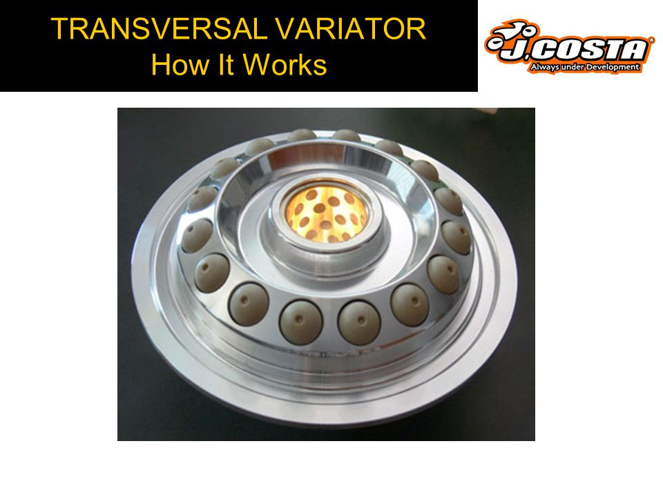 TRANSVERSAL VARIATOR Automatic Transmission How it Works  High speed