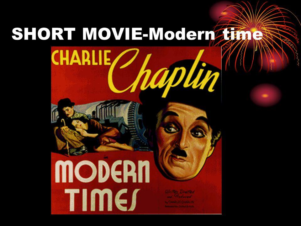 SHORT MOVIE-Modern time
