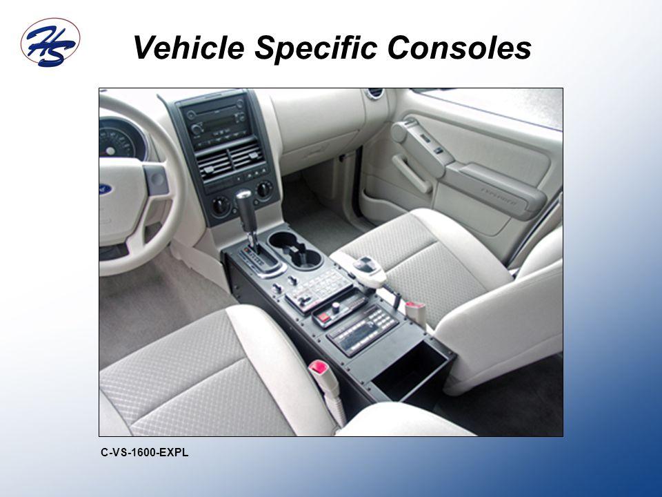 Vehicle Specific Consoles C-VS-1600-EXPL