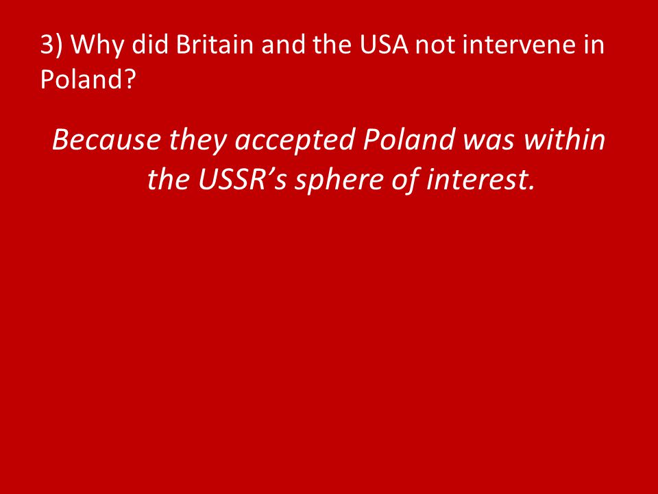 4) How did the USSR tighten its control of Romania.