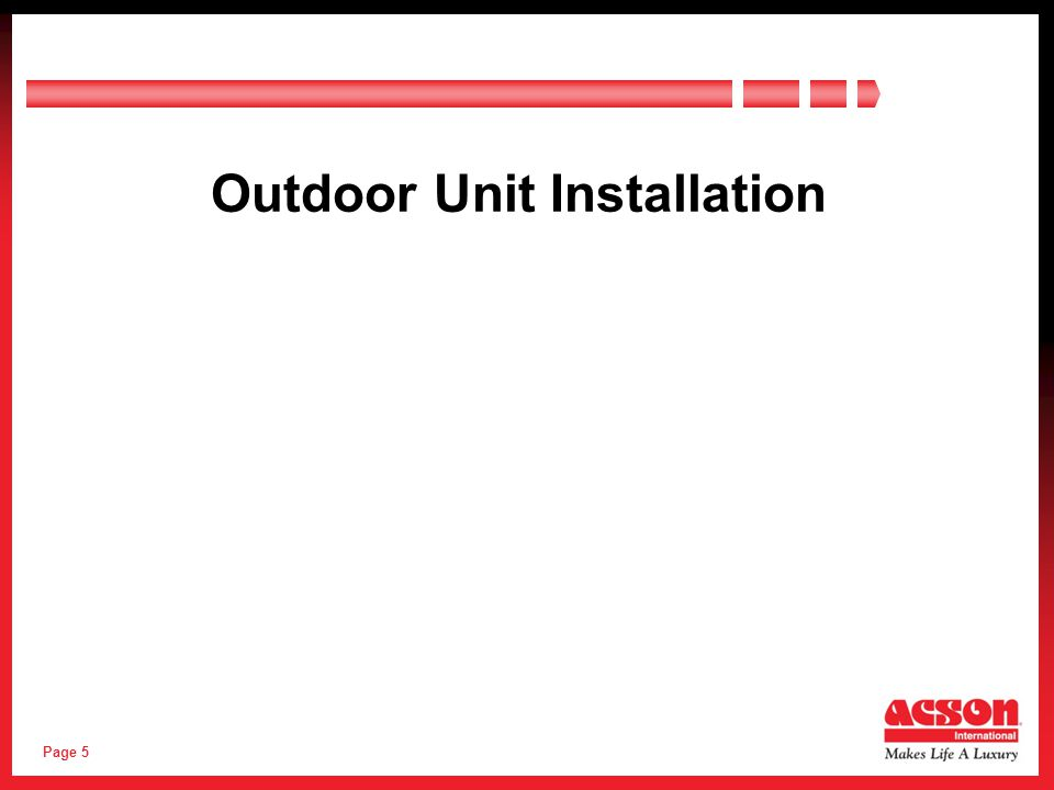 Page 16 Top View (Wall / Barrier restriction same as 1 outdoor unit) Outdoor Unit Spacing (More than 1 unit) Outdoor Unit Installation