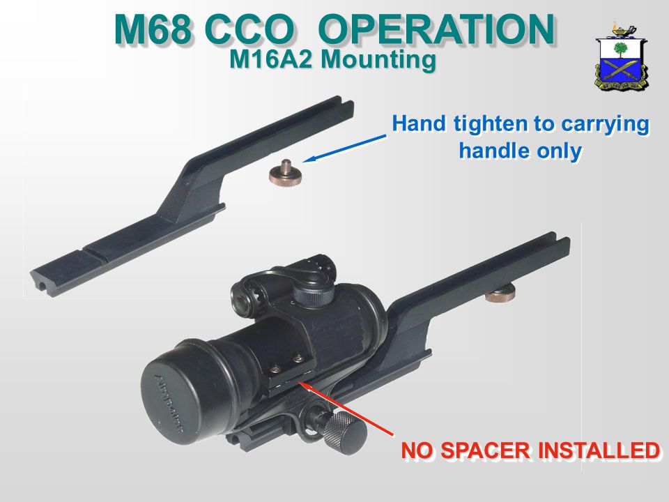 M68 CCO PMCS INSPECT SIGHT:INSPECT SIGHT: INSPECT BATTERY CAP AND ADJUSTMENT CAPS - THREADS, O-RINGS AND BATTERYINSPECT BATTERY CAP AND ADJUSTMENT CAP
