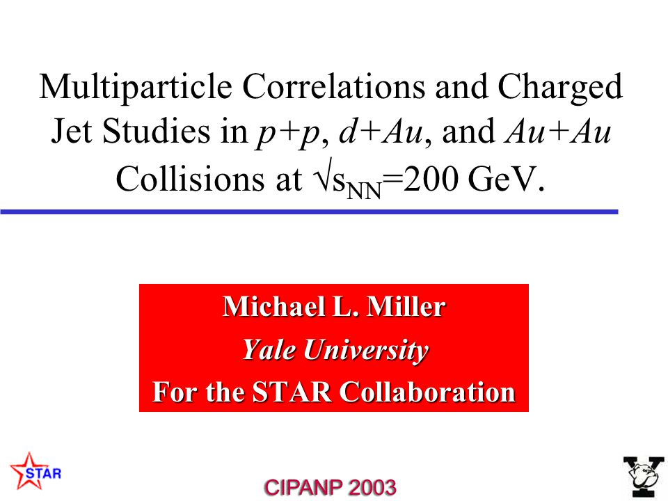 Multiparticle Correlations and Charged Jet Studies in p+p, d+Au, and Au+Au Collisions at  s NN =200 GeV.