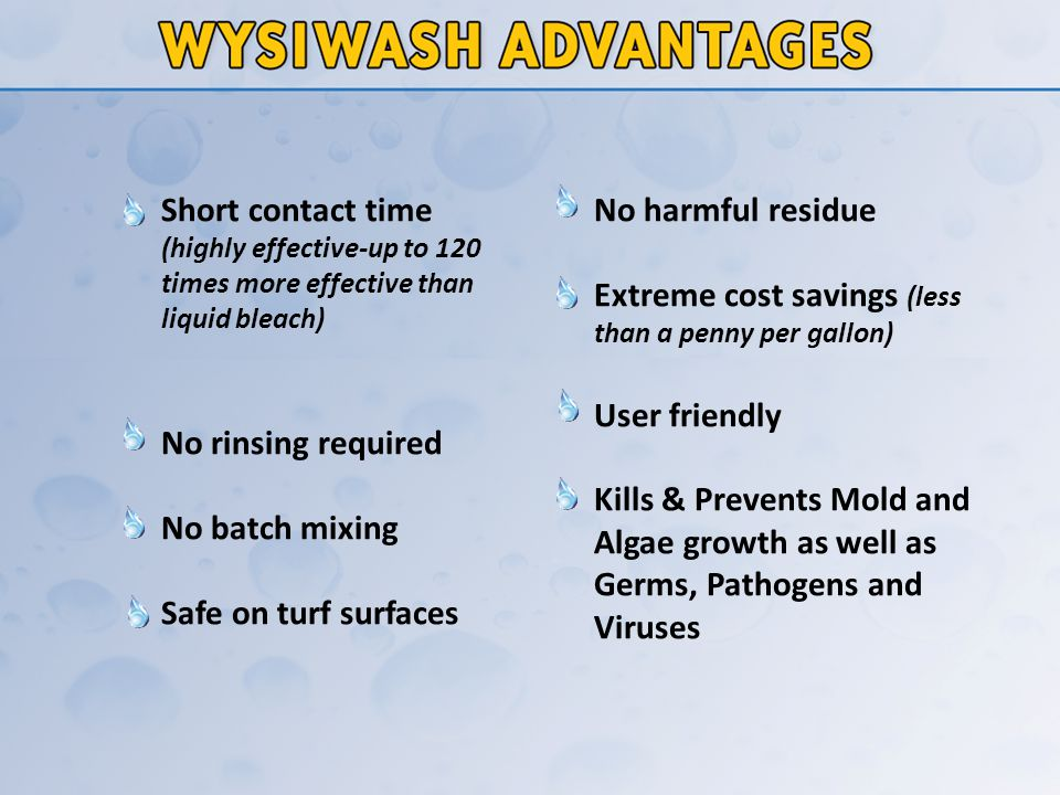 Drop one Wysiwash Jacketed Caplet into the Caplet Container (or check for caplet from previous use).