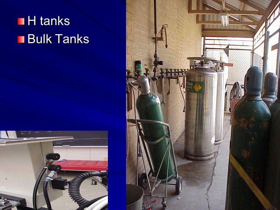 H tanks Bulk Tanks
