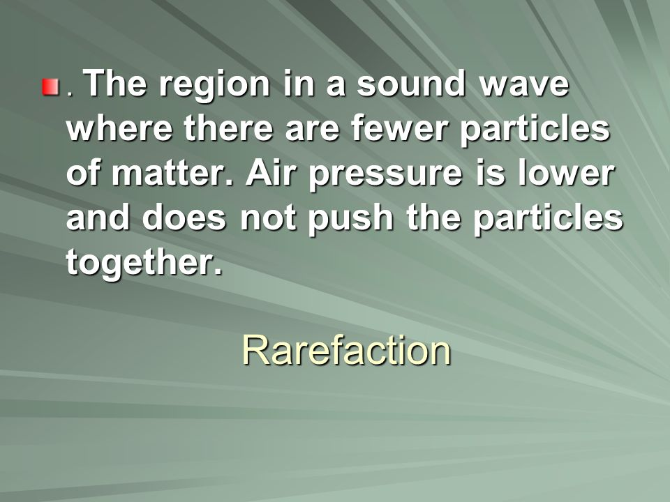 What would happen to the pitch of a sound if the frequency of the wave increased.