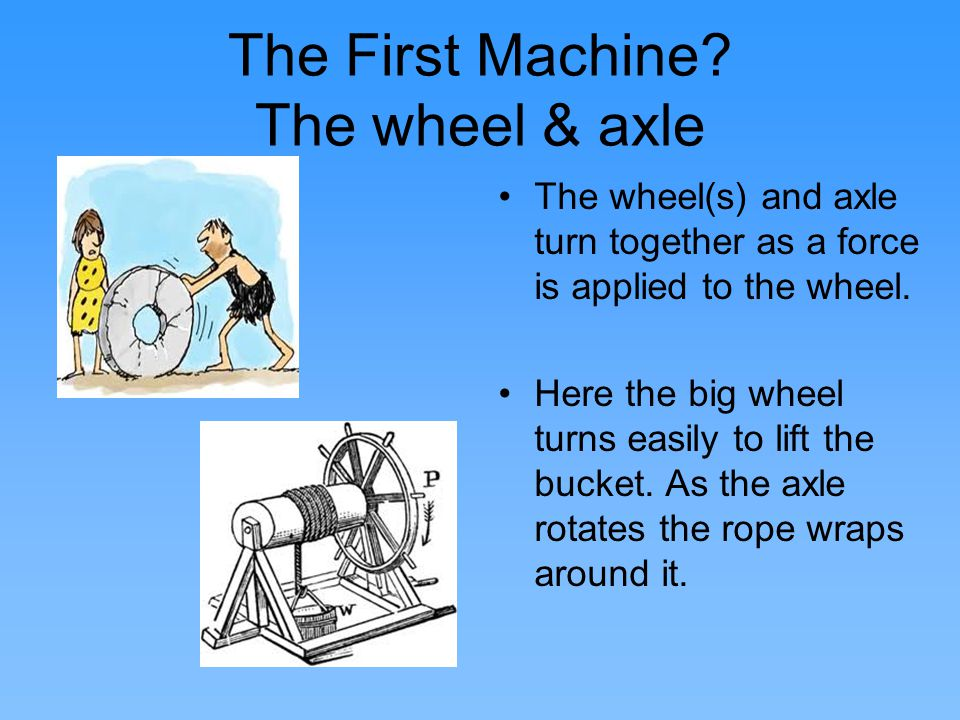 Why do we need simple machines.