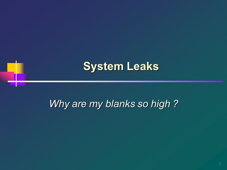 4 Leak Points