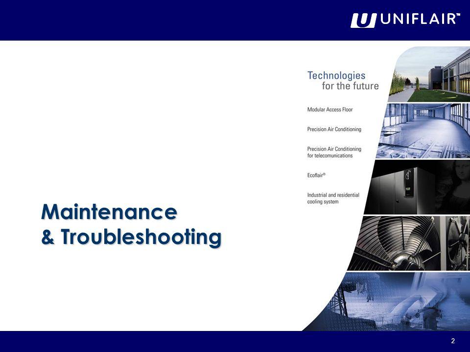 2 Maintenance & Troubleshooting