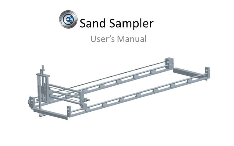 Sand Sampler User's Manual