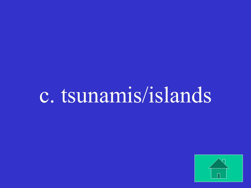 Underwater volcanoes can cause ____ and over time can become ____.