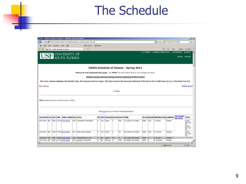 40 AutoSizeColumnsMode Display the properties of dgvSchedule.