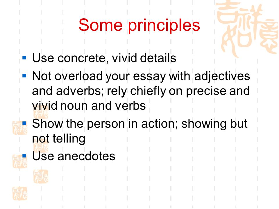 writing unit my role model period warm up  who is  5 some principles