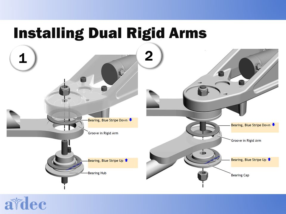 Installing Dual Rigid Arms 11 22