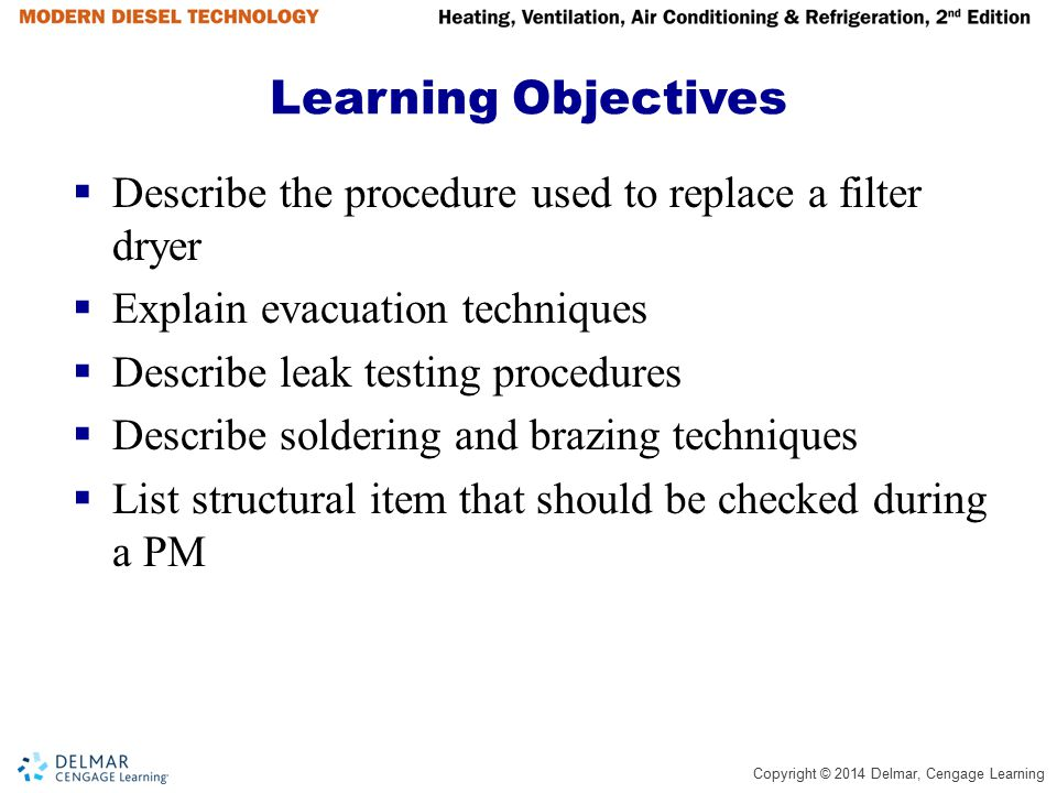 Copyright © 2014 Delmar, Cengage Learning Manifold Gauge Connections