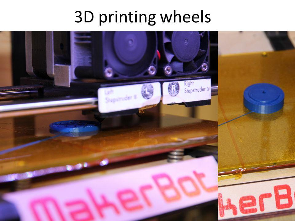 3D printing wheels
