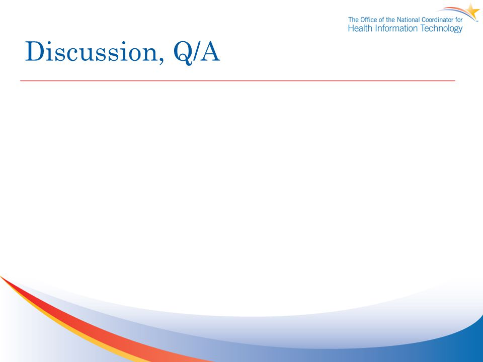 Discussion, Q/A