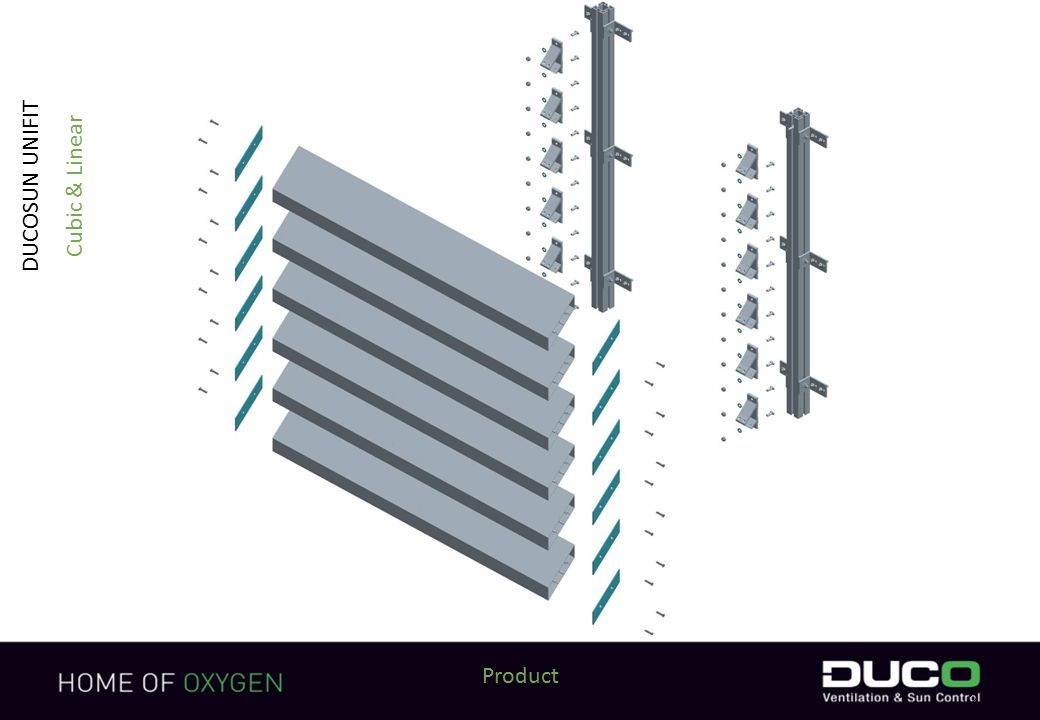 2 Product DUCOSUN UNIFIT Cubic & Linear