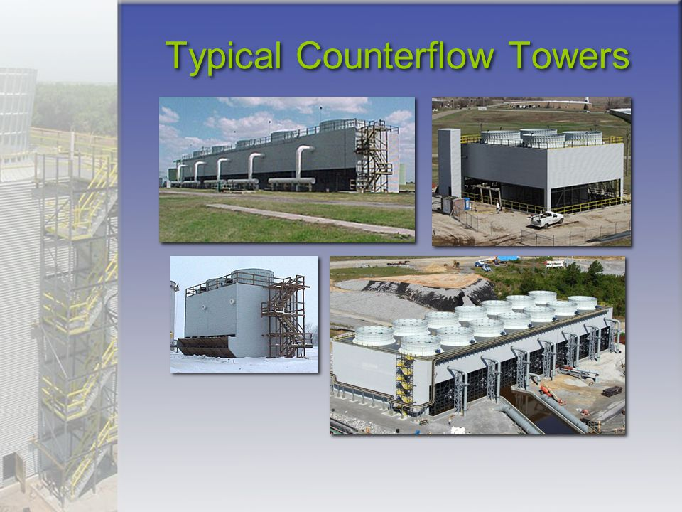Typical Counterflow Towers
