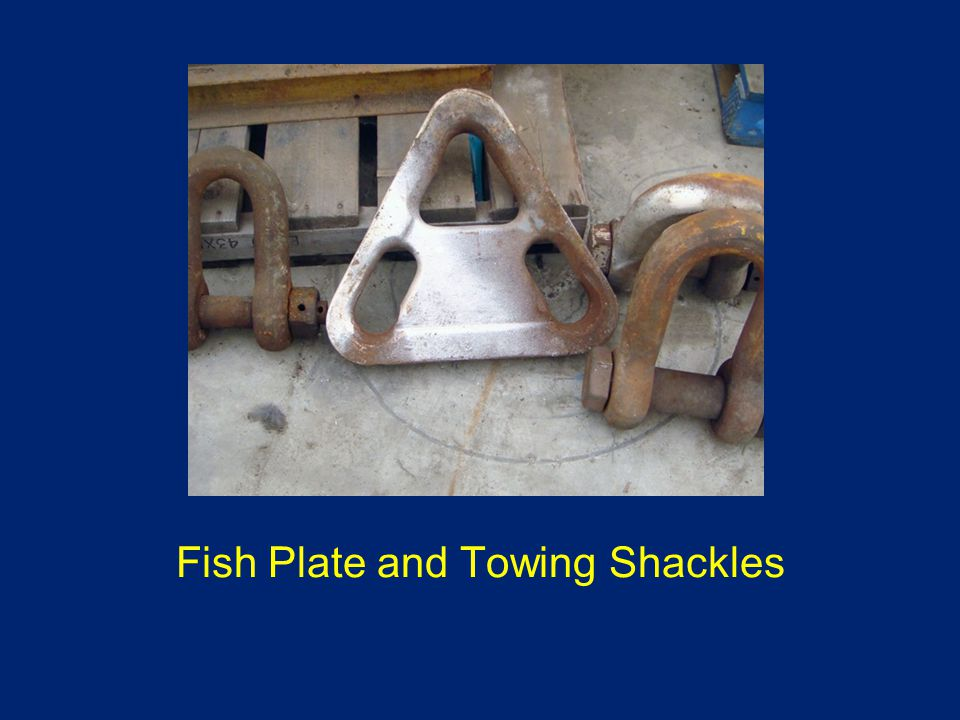 Fish Plate and Towing Shackles