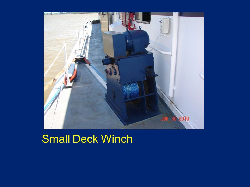 Small Deck Winch