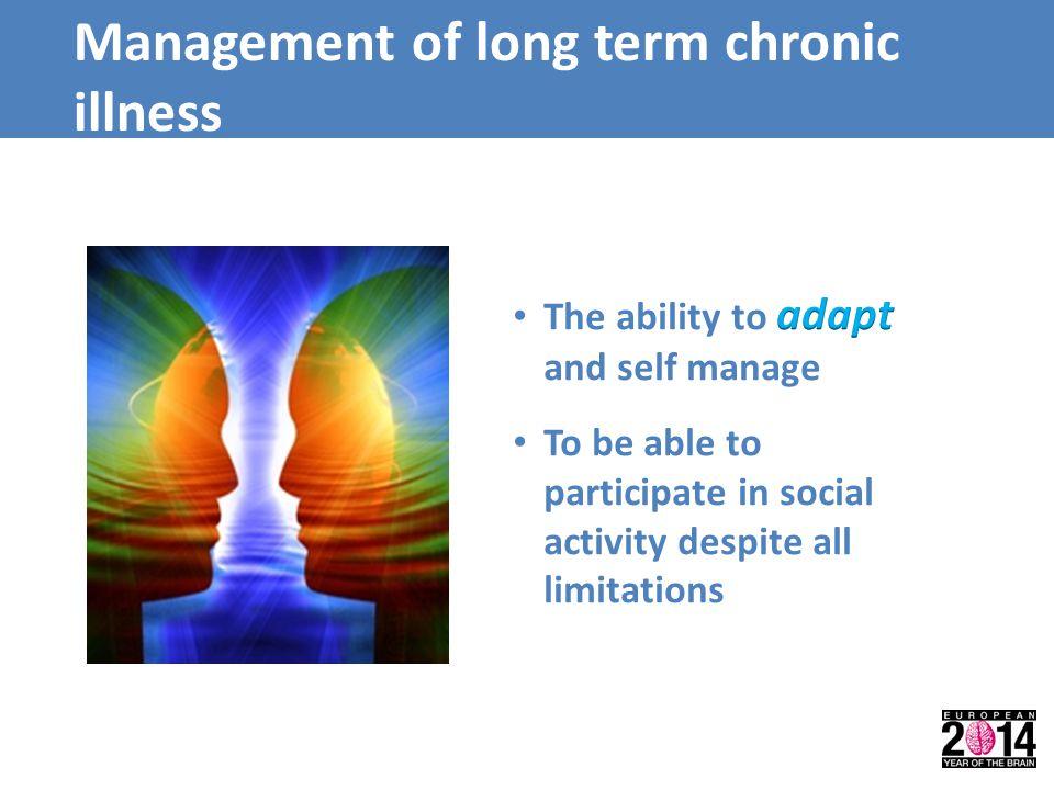 Management of long term chronic illness