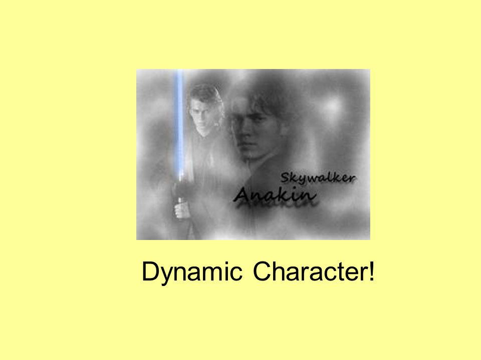 Dynamic Character!