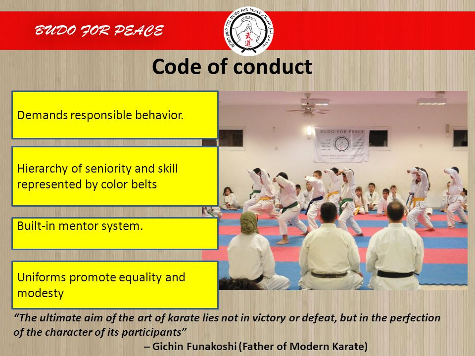 Code of conduct.