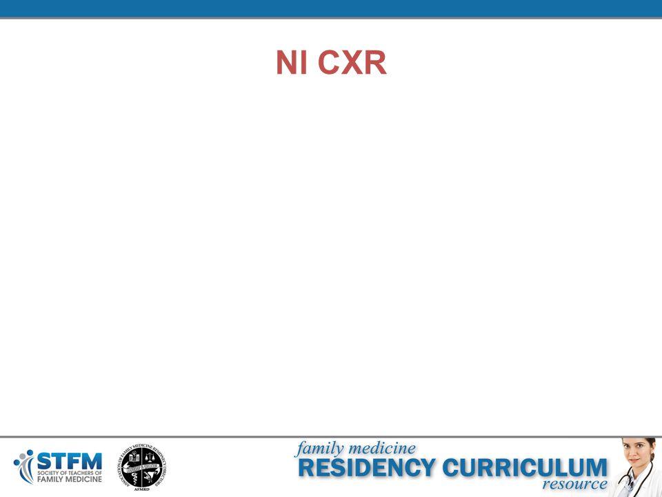 Nl CXR