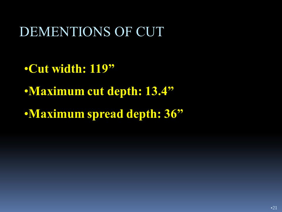 """MAJOR COMPONENTS - BOWL CUTTING EDGESROUTER BITS MUST BE CHANGED WHEN 1"""" FROM MOLDBOARD 20"""