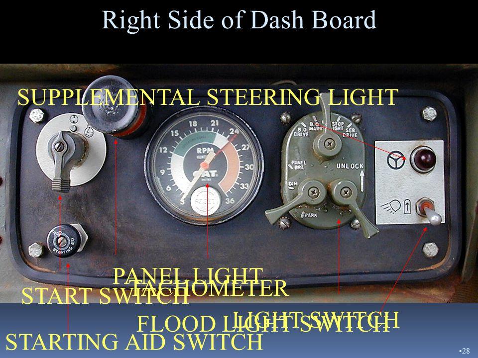 STEERING COLUMN CONTROLS Turn Signal Retarder 27