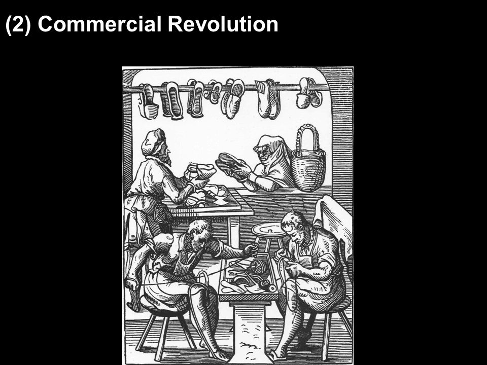 (2) Commercial Revolution