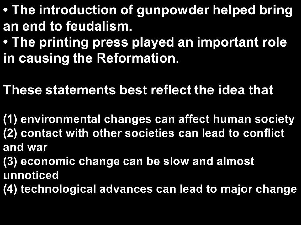 (2) Commercial Revolution