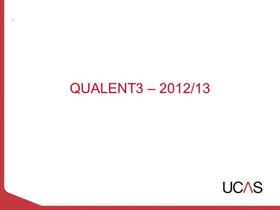 QUALENT3 – 2012/13