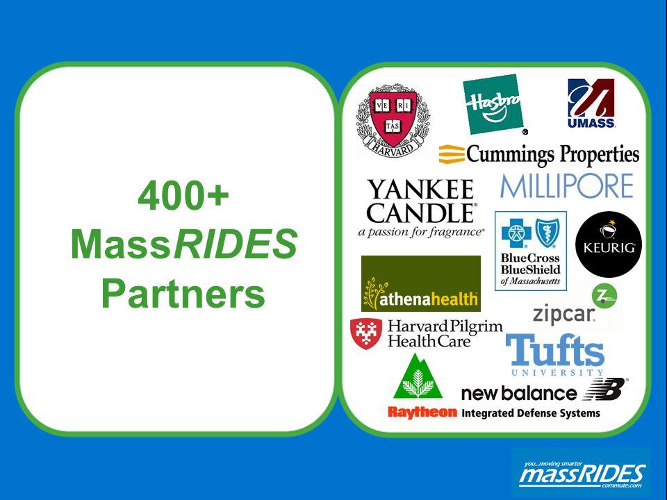 400+ MassRIDES Partners