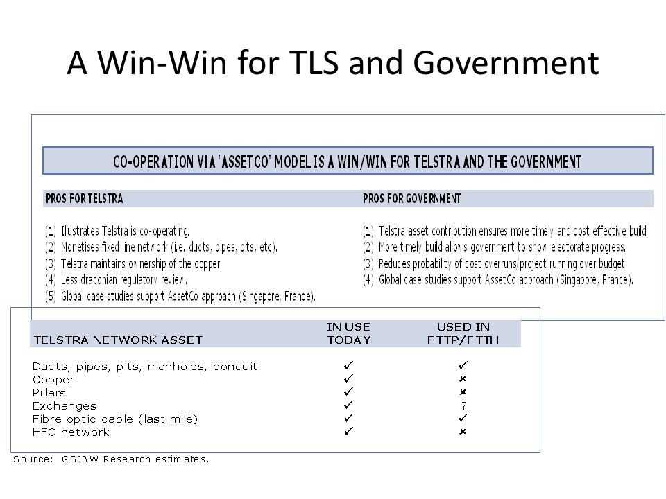 A Win-Win for TLS and Government