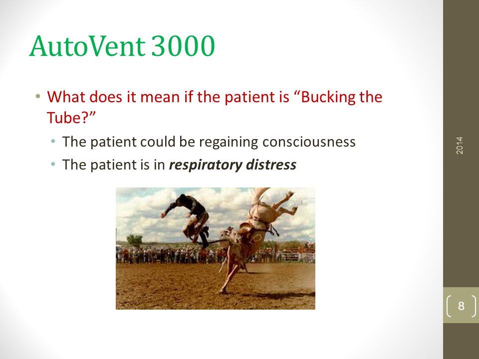 AutoVent 3000 AutoVent 3000 Tutorial (9:25 min) AutoVent 3000 Tutorial Instructor Demo Practice 2014 19