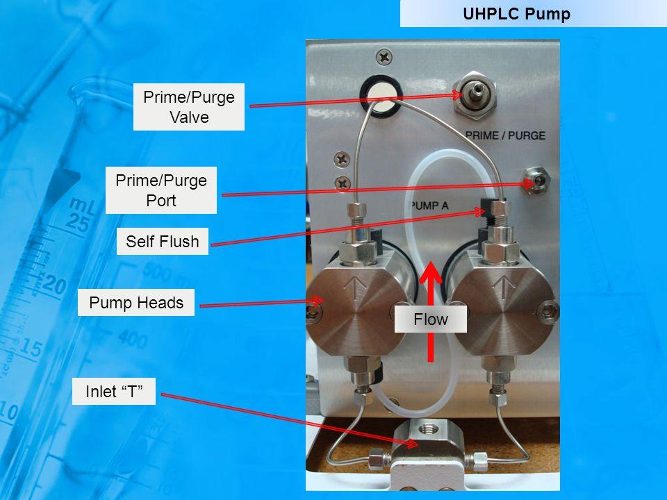 """Self Flush Pump Heads Inlet """"T"""" Prime/Purge Valve Prime/Purge Port Flow UHPLC Pump"""