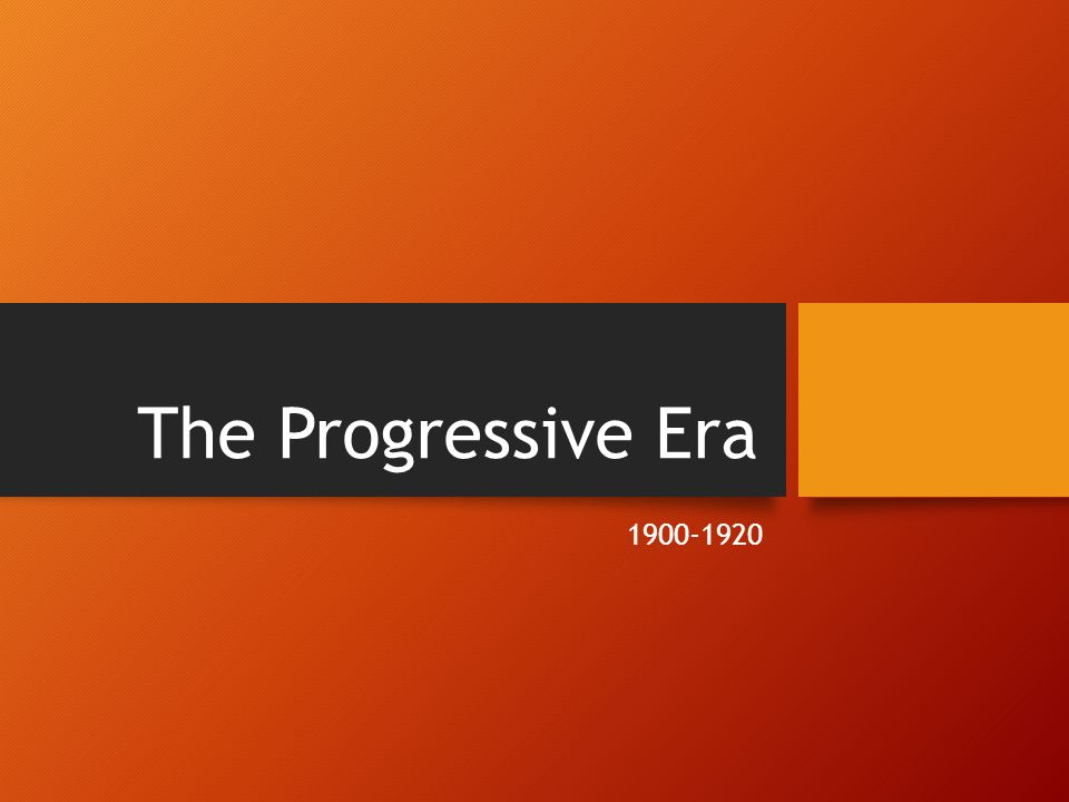 Do Now: Copy these notes into your notebook Progressivism Industrial Revolution led to prolonged problems in the country which aroused a spirit of reform known as progressivism Who were the Progressives.