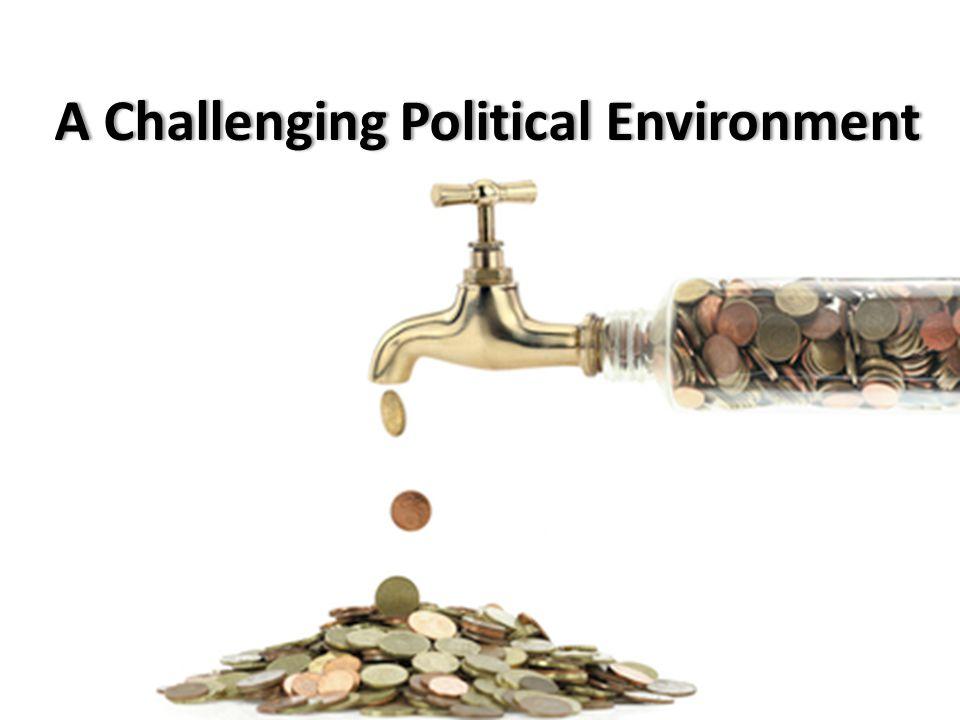 A Challenging Political EnvironmentA Challenging Political Environment 8