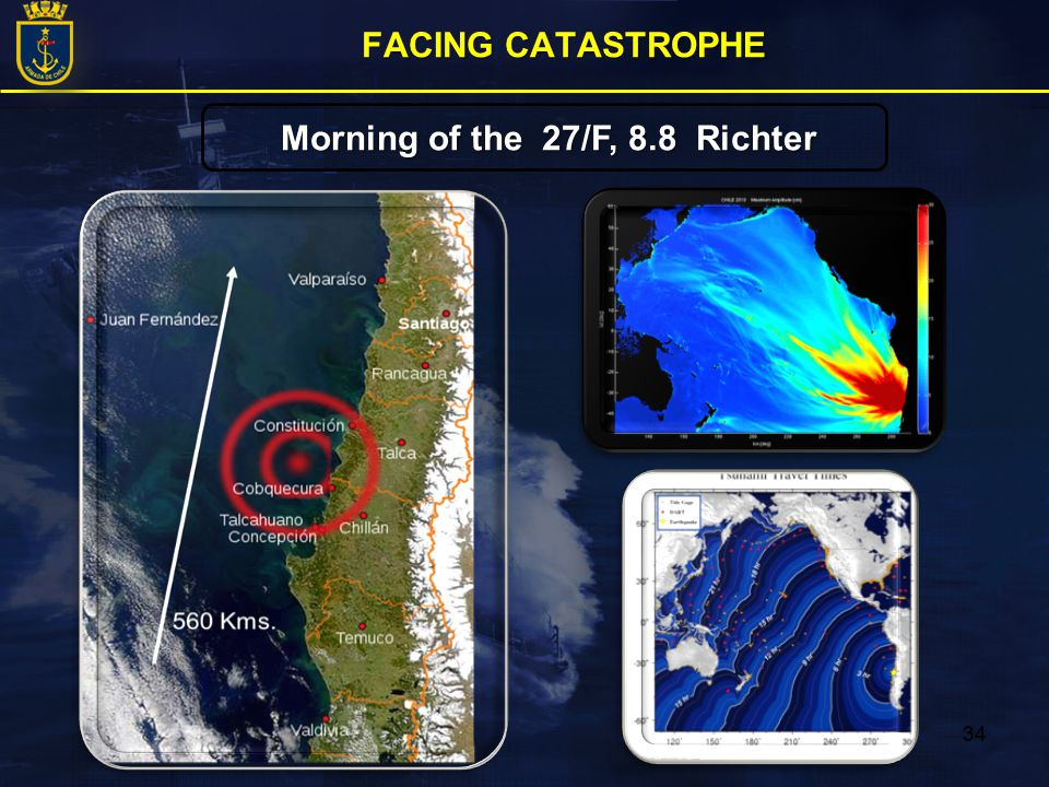 34 Morning of the 27/F, 8.8 Richter FACING CATASTROPHE