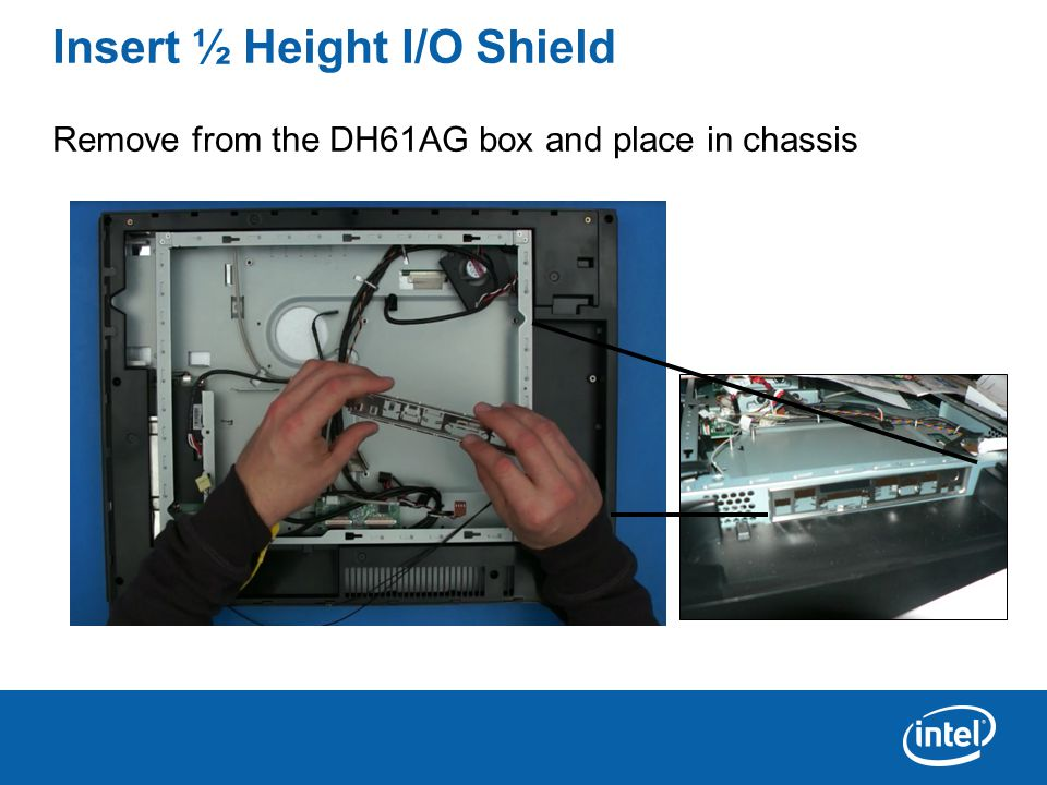 Connect the DVI Monitor Before you can use the built-in flat panel (LVDS) display, you will have to use the Intel Integrator Tool Kit (ITK) to enable the BIOS (the default is no LVDS device installed).