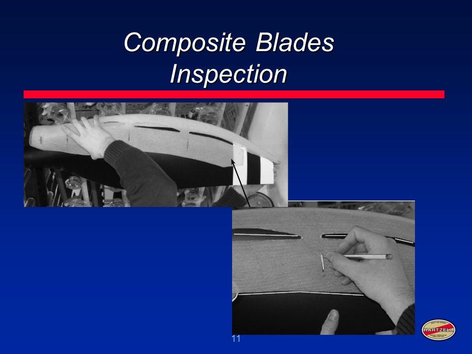 11 Composite Blades Inspection