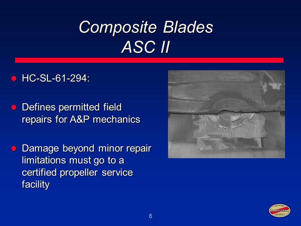 17 Aluminum Blades Production Rolling Issue HC-SB-61-318 rev.
