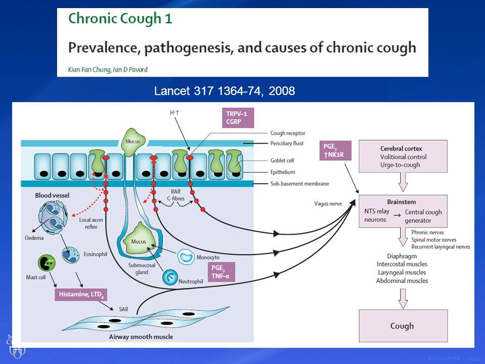©2014 MFMER | slide-4 Background Prevalence of cough.