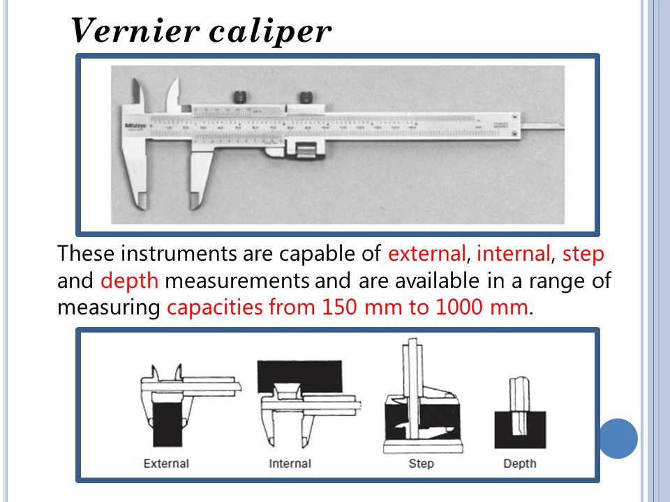 Vernier caliper adjustment To take a measurement, slacken both locking screws A and B.